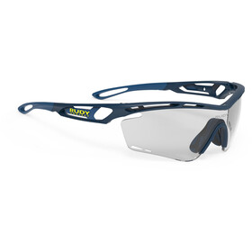 Rudy Project Tralyx Glasses blue navy matte - impactx photochromic 2 black